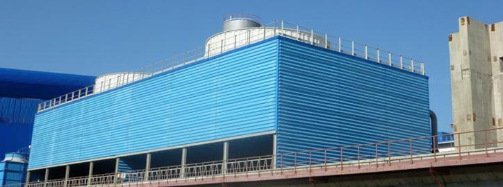 Chladicí věže - Velké ventilátorové chladící věže