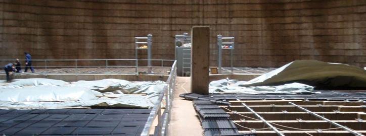 Rekonstrukce a modernizace chladicích věží - Servis, rekonstrukce a modernizace chladicích věží