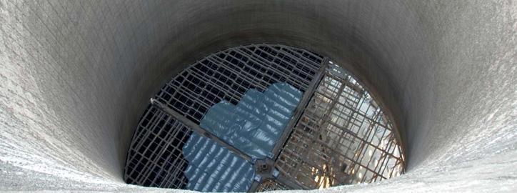 Rekonstrukce a modernizace chladicích věží - Sanace železobetonových konstrukcí
