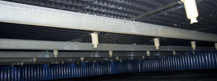 Komponenty pro chladicí věže - Trysky