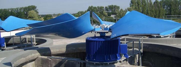 Komponenty pro chladicí věže - Ventilátory