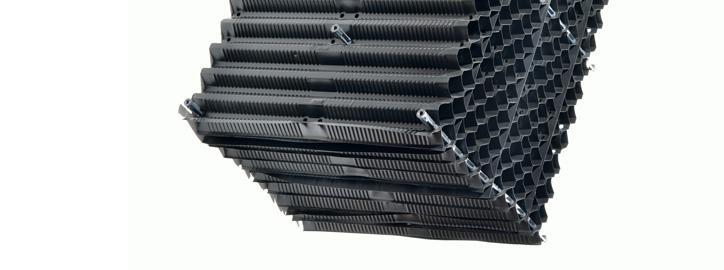 Komponenty pro chladicí věže - Chladící výplně - Typ 22,5