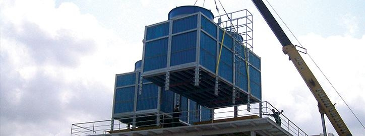 Chladicí věže - Malé ventilátorové chladící věže