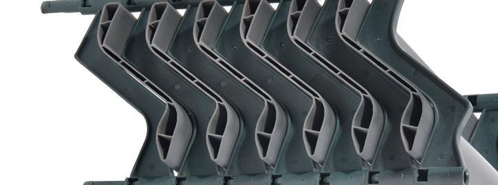 Komponenty pro chladicí věže - Eliminátory - AOK 130 A