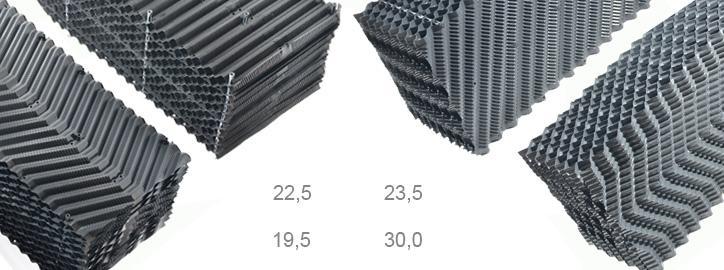 Komponenty pro chladicí věže - Chladící výplně