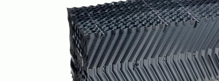 Komponenty pro chladicí věže - Chladící výplně - Typ 19,5