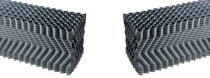 Komponenty pro chladicí věže - Chladící výplně - Typ 30,0